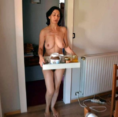 Nude large breast asian woman